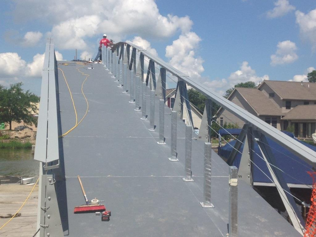 Indian Lake, Ohio Pedestrian Bridge Project Gallery