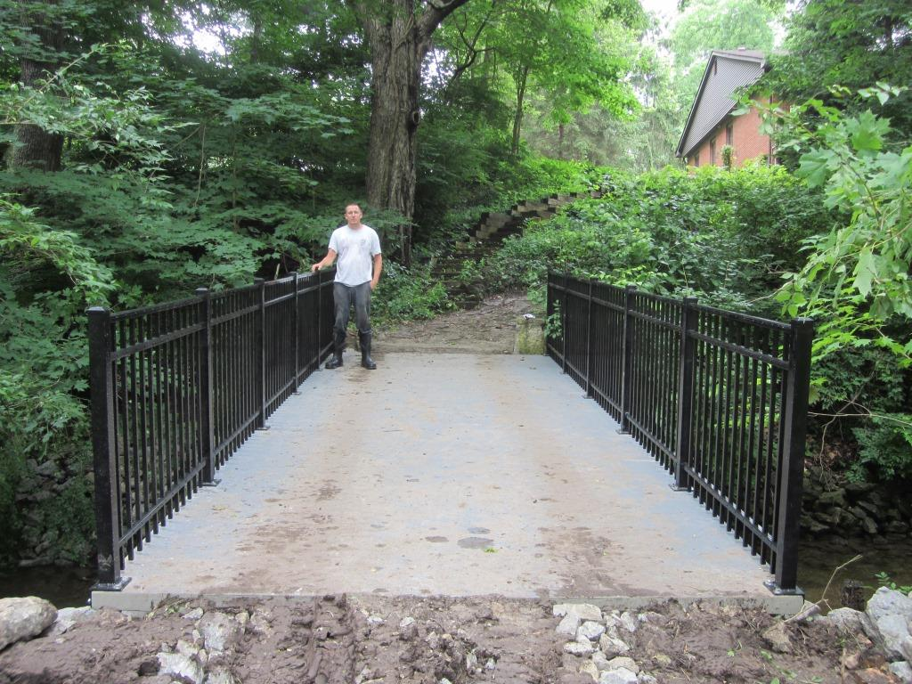 Private Residence Trail Bridge Project