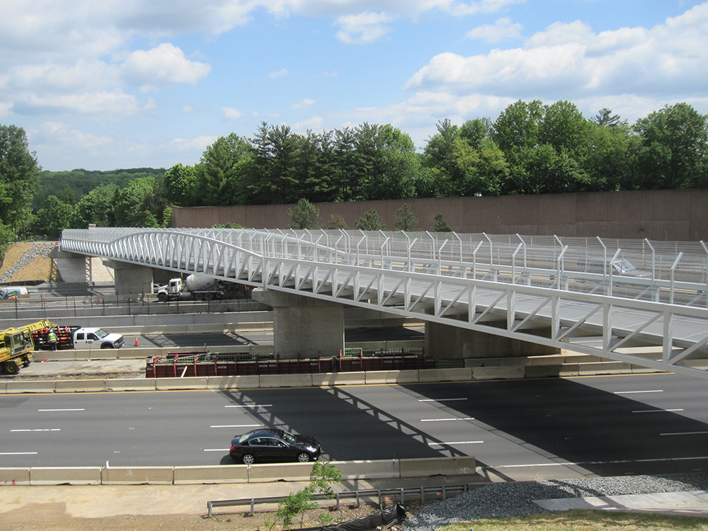 Wolf Trap Pedestrian Bridge Project Gallery