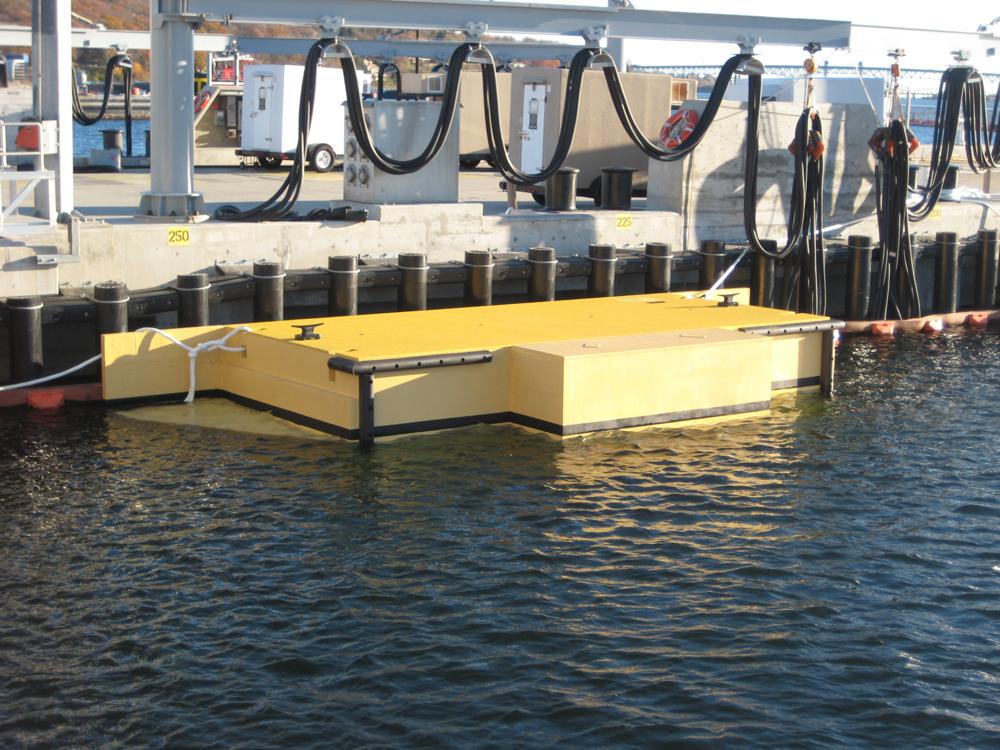 Submarine Camel Pier 6 Project Gallery