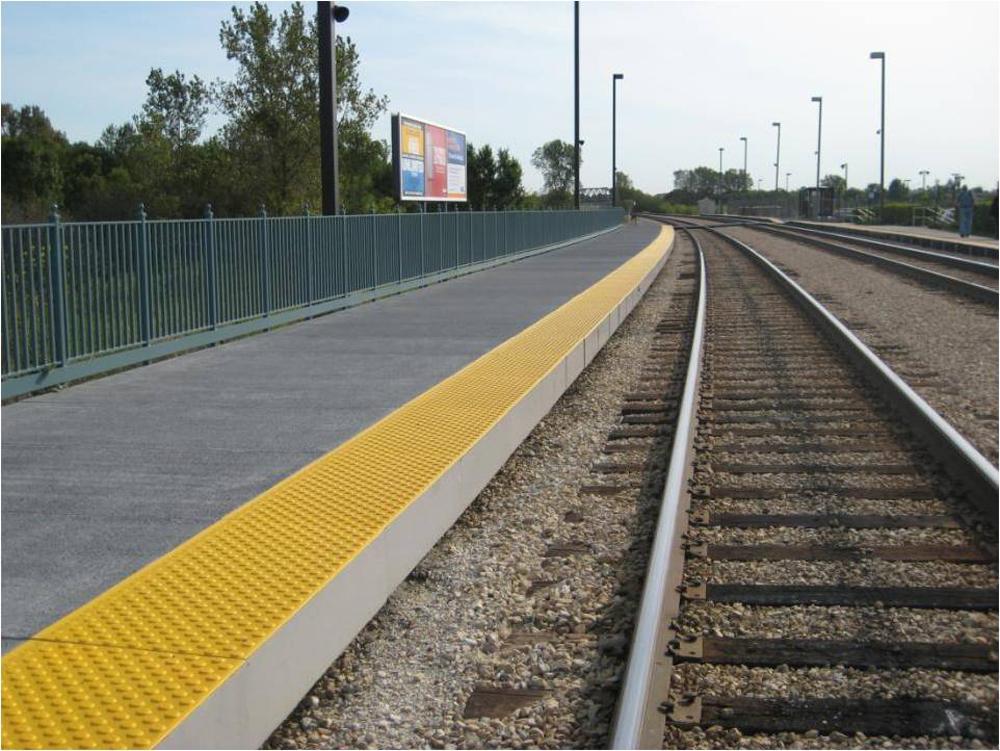 Chicago New Lenox Rail Platform Project Gallery