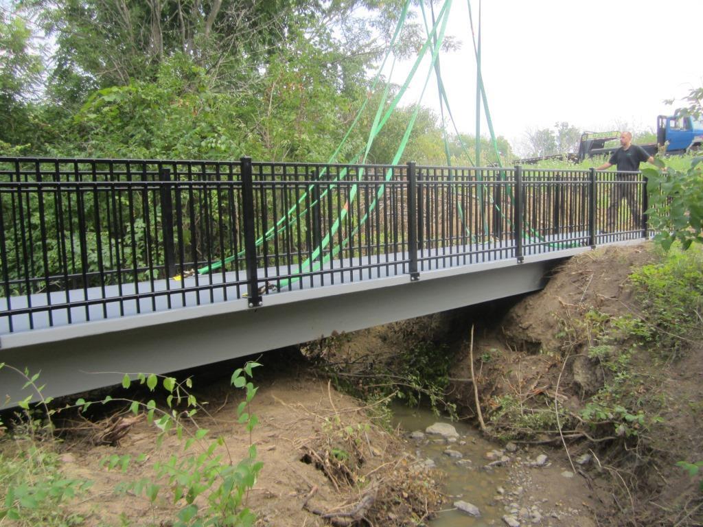 Mason, OH Trail Bridge Project Gallery