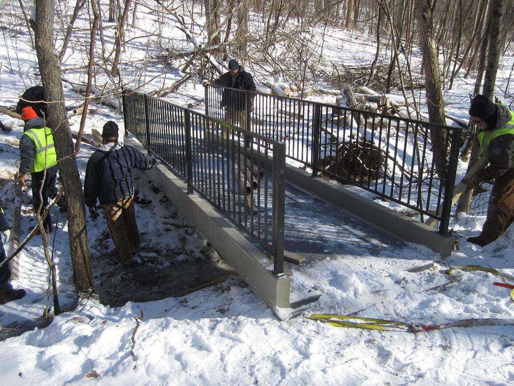 Germantown, Ohio Trail Bridge Project Gallery