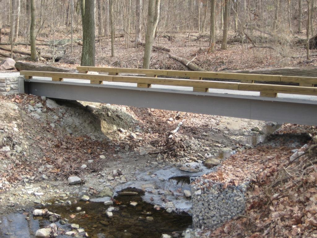 Oakwood, OH Trail Bridge Project Gallery