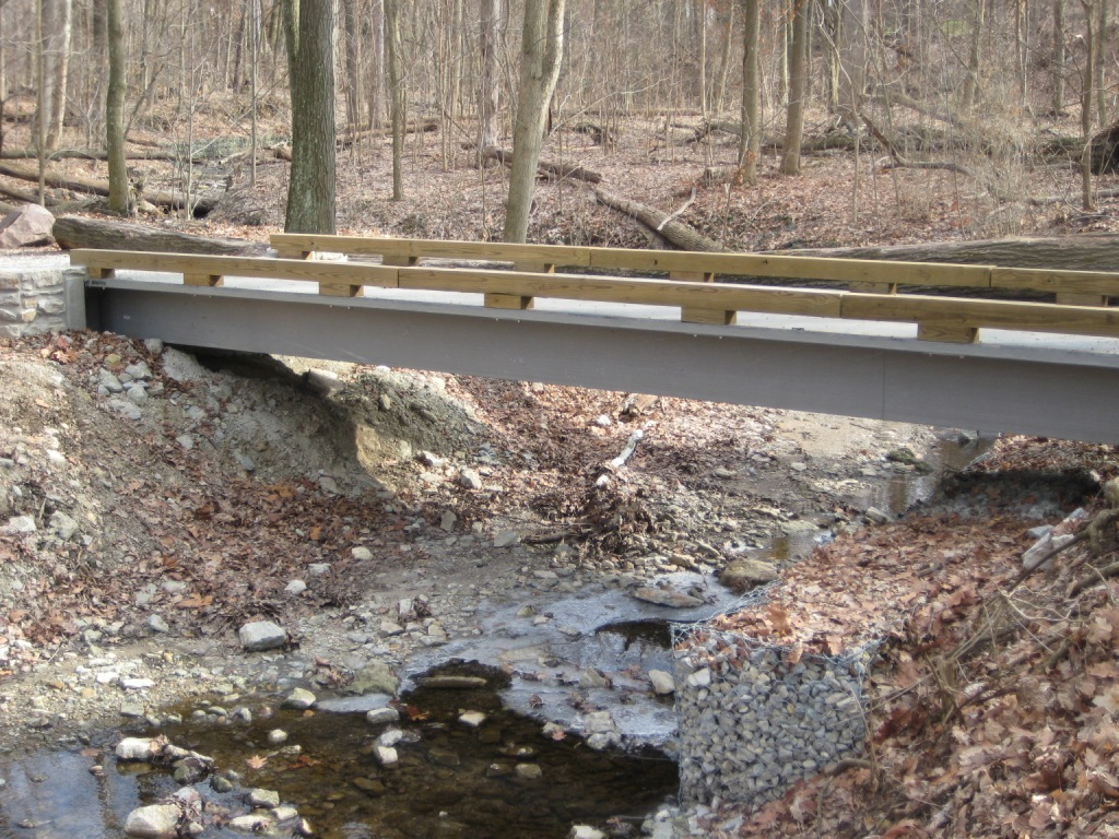 Oakwood, OH Trail Bridge Project Gallery