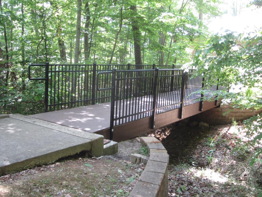 Daniel Boone National Park Trail Bridge Project Gallery