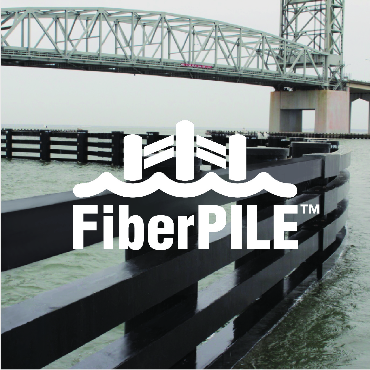 FiberPILE Waterfront protection