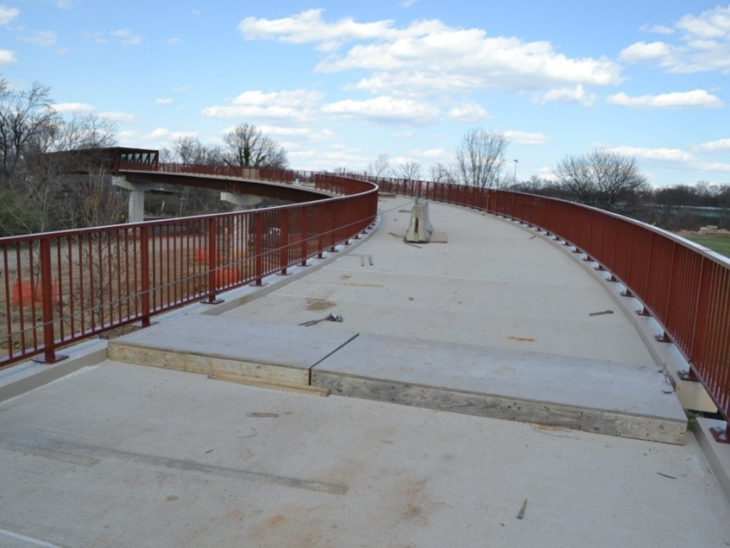 Anacostia East Pedestrian Bridge Project Gallery
