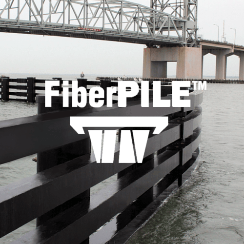 FiberPILE Waterfront Fender