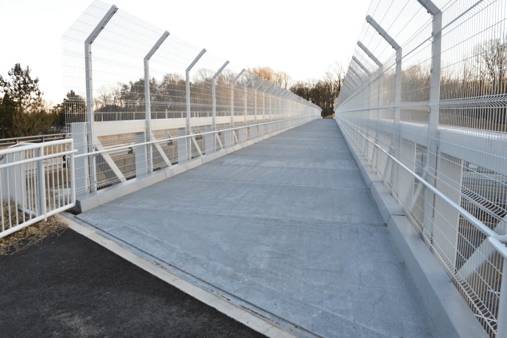 Wolf Trap Pedestrian Bridge Deck