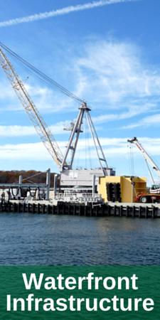 Waterfront Infrastructure, Submarine Camel on Pier