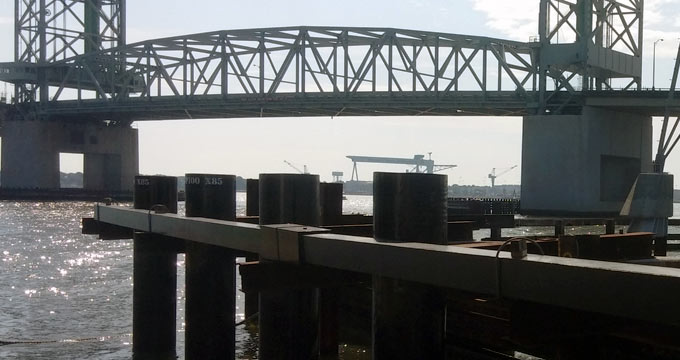 Composite Adv  - Waterfront Infr  - Large Diameter Pipe Piles