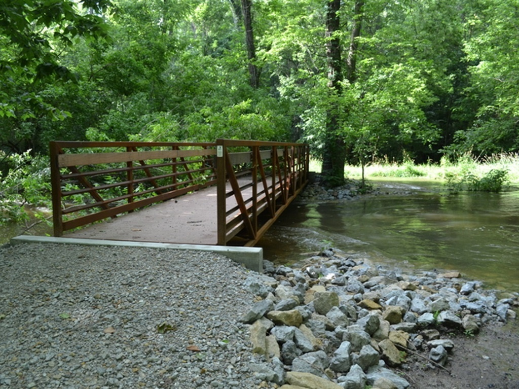 Phillips Park Trail Bridge Project Gallery