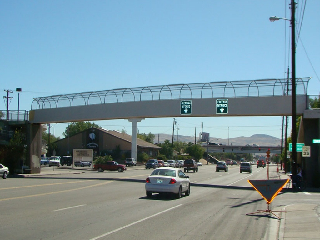 Reno, NV Pedestrian Bridge Project Gallery