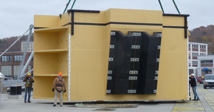 Submarine Camel Pier Installation