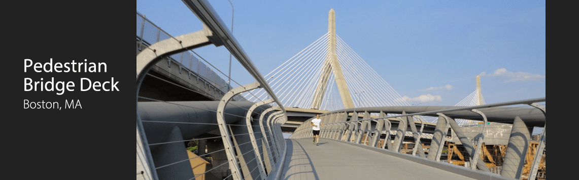 Pedestrian Bridge Deck, Boston, MA
