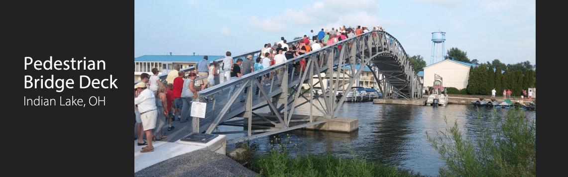 Pedestrian Bridge Deck, Indian Lake, OH