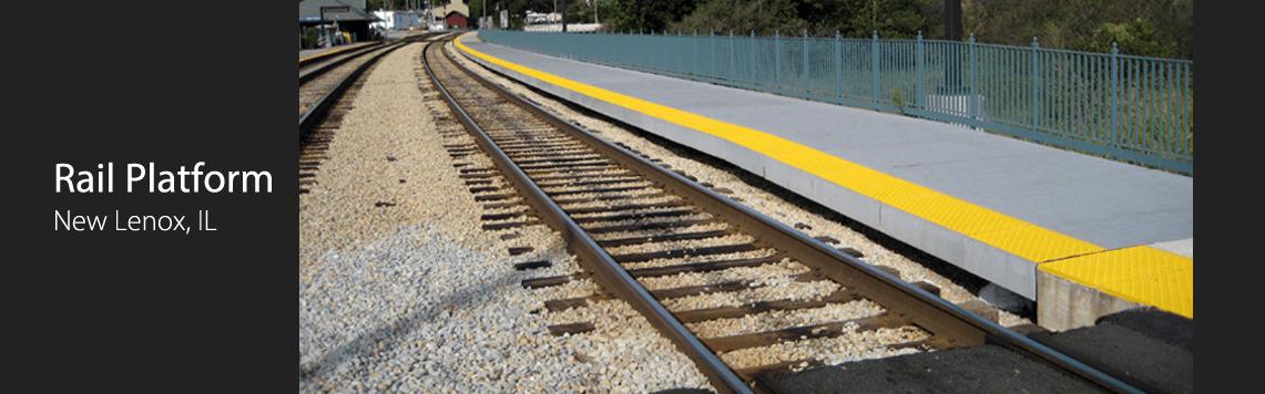 Rail Platform, New Lenox, IL